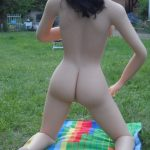 Sexpuppe von hinten